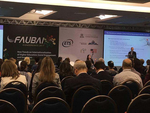 Faubai Conference 2017 - New Trends in Internationalization of HE, Social Engagement and Innovation
